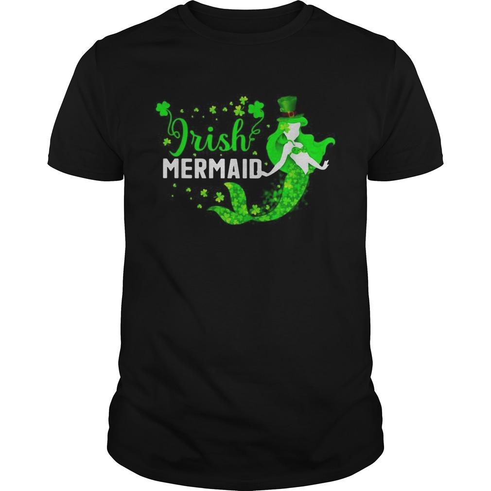 St Patricks day Irish mermaid shirt Classic Men's