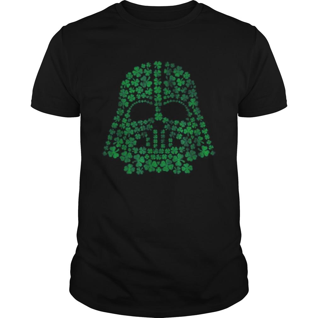 Star Wars Darth Vader Green Shamrocks St Patricks Day shirt Classic Men's