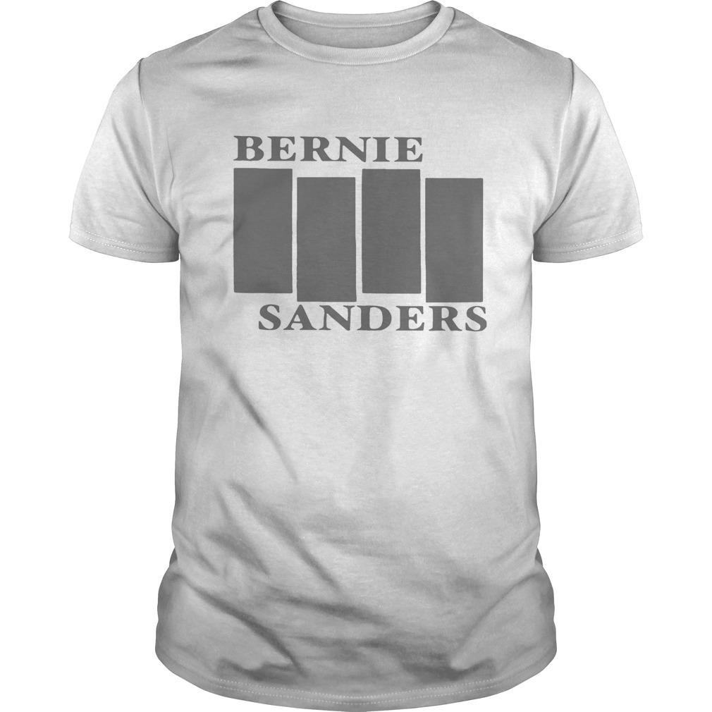 Bernie Sanders Black White Flag 2020 shirt Classic Men's