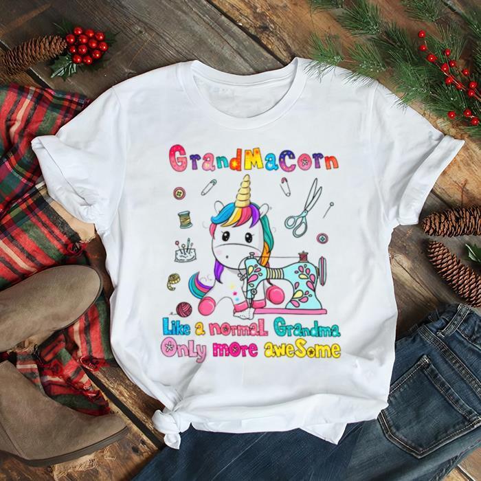 Grandmacorn Like A Normal Grandma Only More Awesome shirt Classic Men's