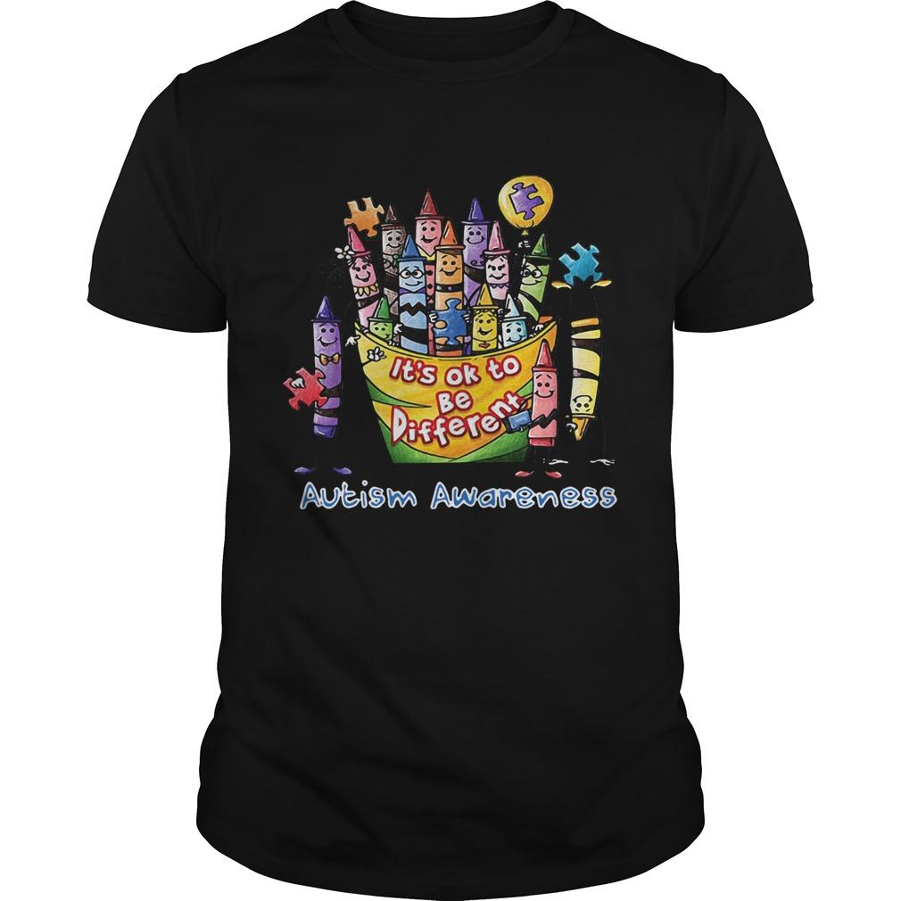 Its Ok To Be Diferent Autism Awareness shirt Classic Men's