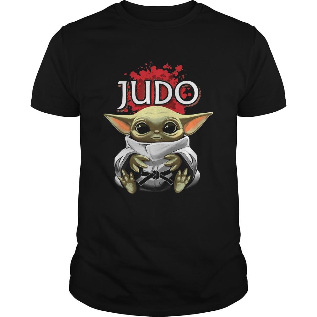 Baby Yoda Judo shirt Classic Men's
