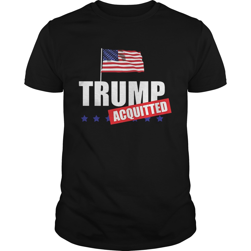 Donald Trump Acquitted Acquittal ProTrump shirt Classic Men's