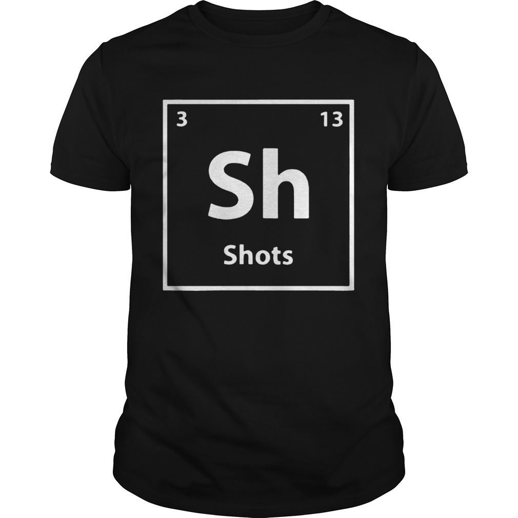 Periodic table for drunks shots shirt Classic Men's
