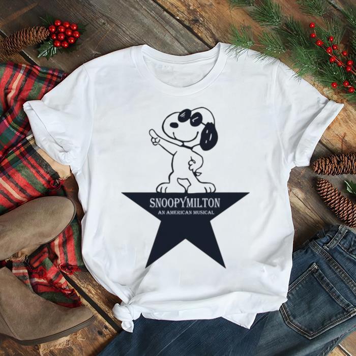 Snoopy Milton An American Musical shirt Classic Men's