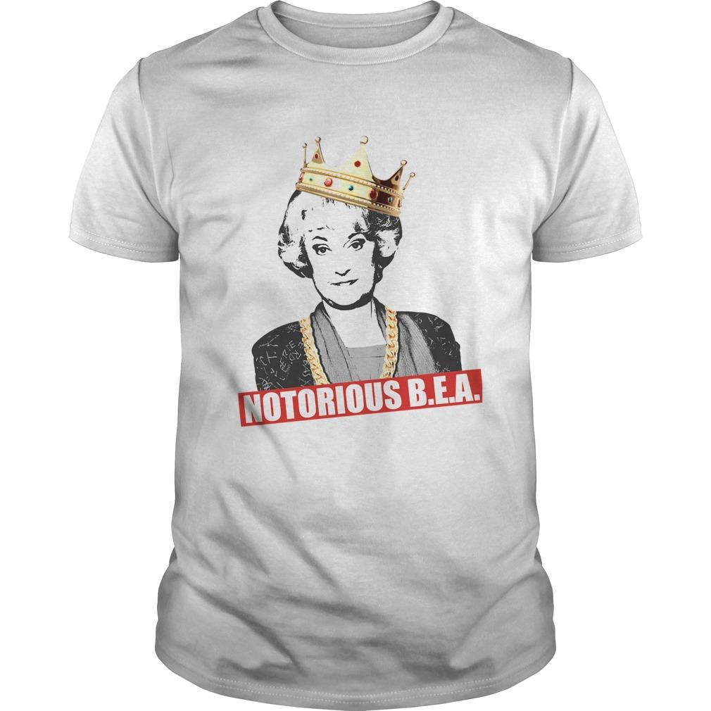The Golden Girls Notorious BEA shirt Classic Men's