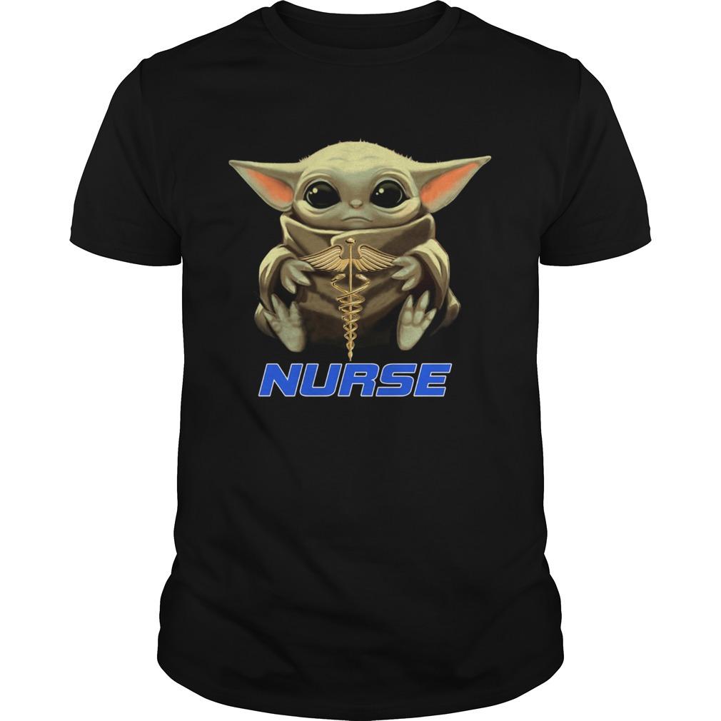 Baby Yoda Hug Nurse shirt Classic Men's