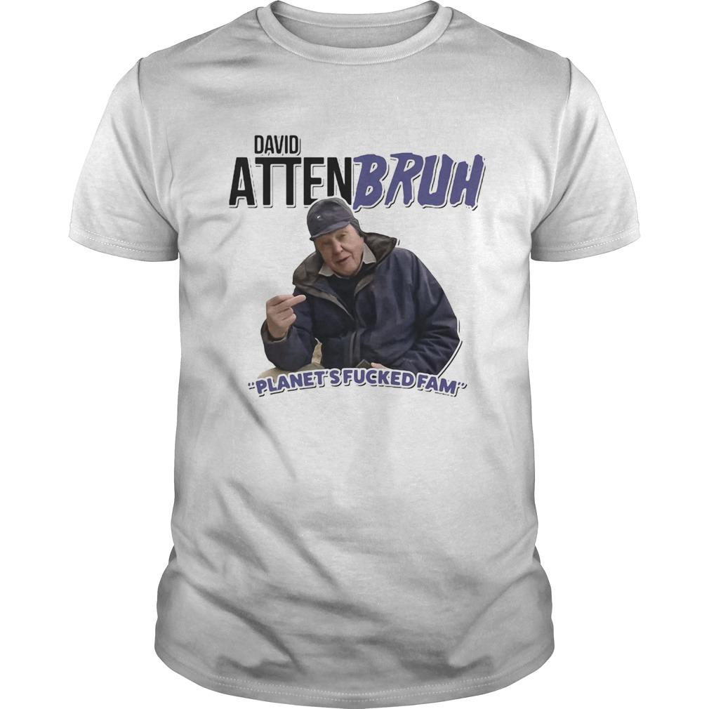 David Attenbruh Planets Fucked Fam shirt Classic Men's