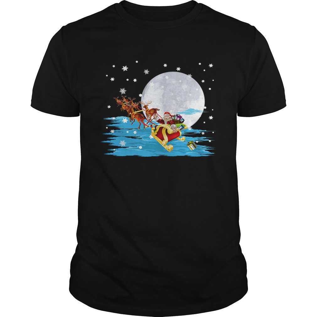 Santa Claus Gifts Christmas Sleigh shirt Classic Men's