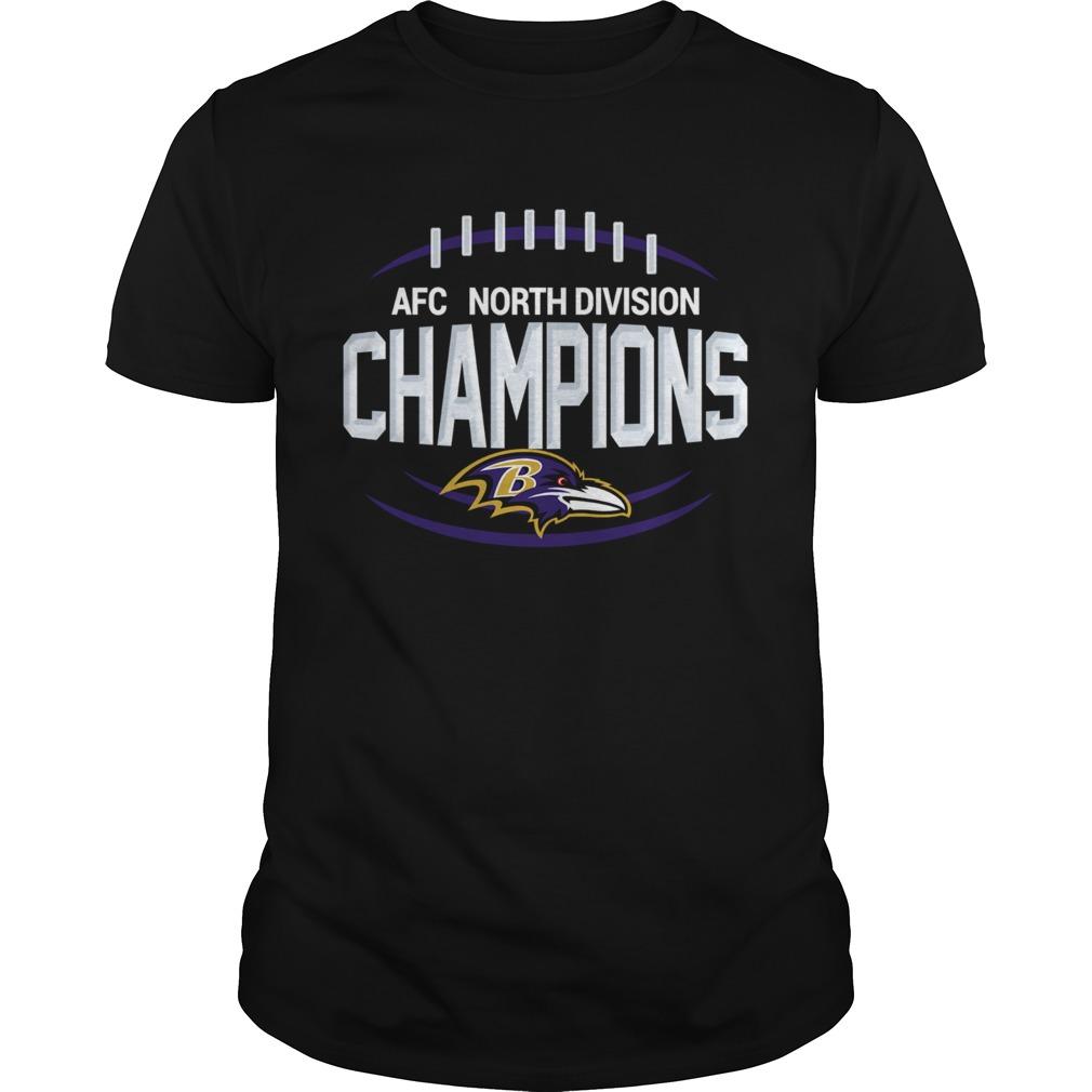AFC North Division Champions Baltimore Ravens shirt Classic Men's
