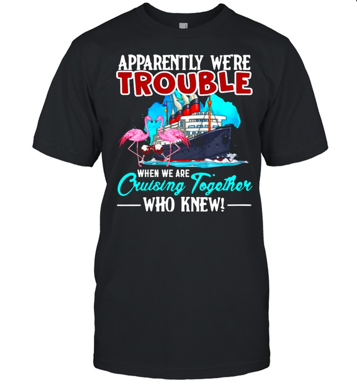 Apparently We're Trouble When We Are Cruising Together T-shirt Classic Men's T-shirt