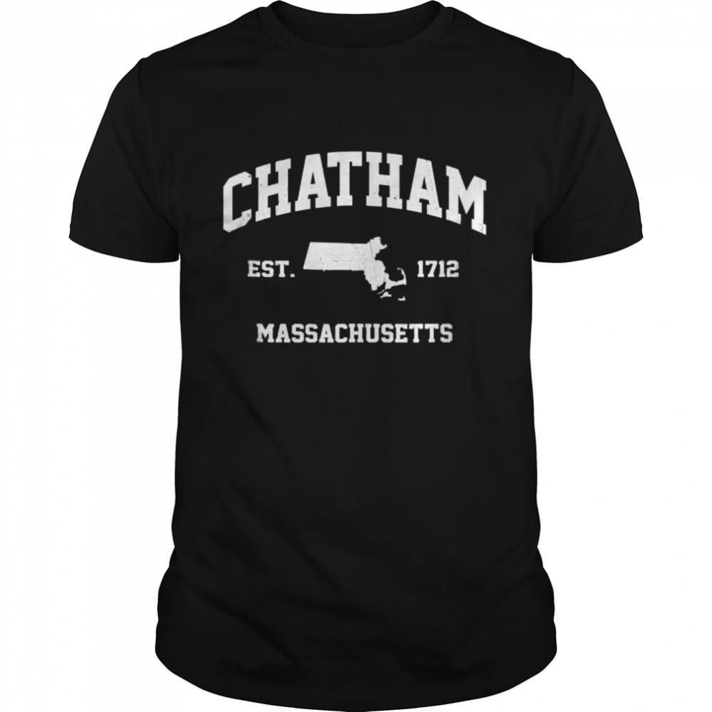 Chatham Massachusetts MA vintage state Athletic shirt Classic Men's T-shirt