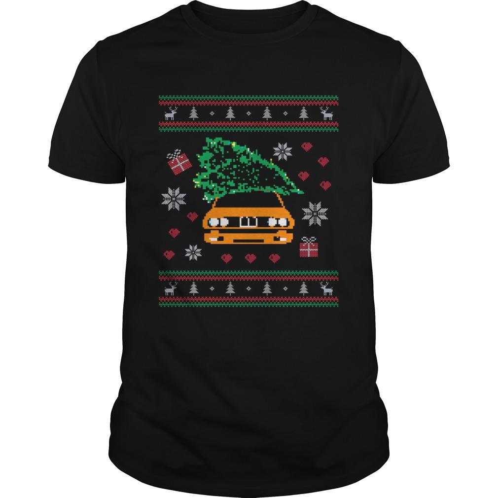 General Lee Car Christmas Tree Ugly Christmas shirt Classic Men's