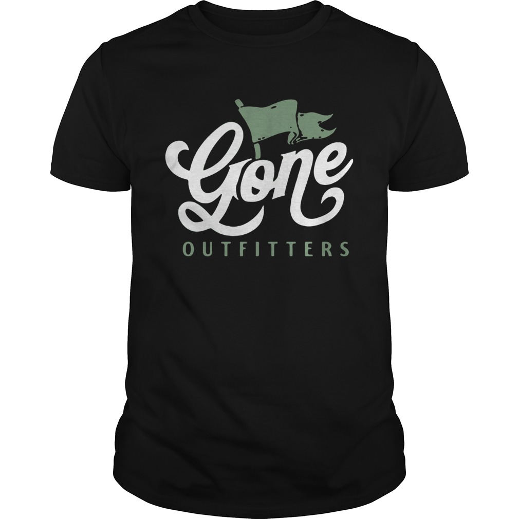 Gone Outfitters Flag Design Retro Graphic shirt Classic Men's