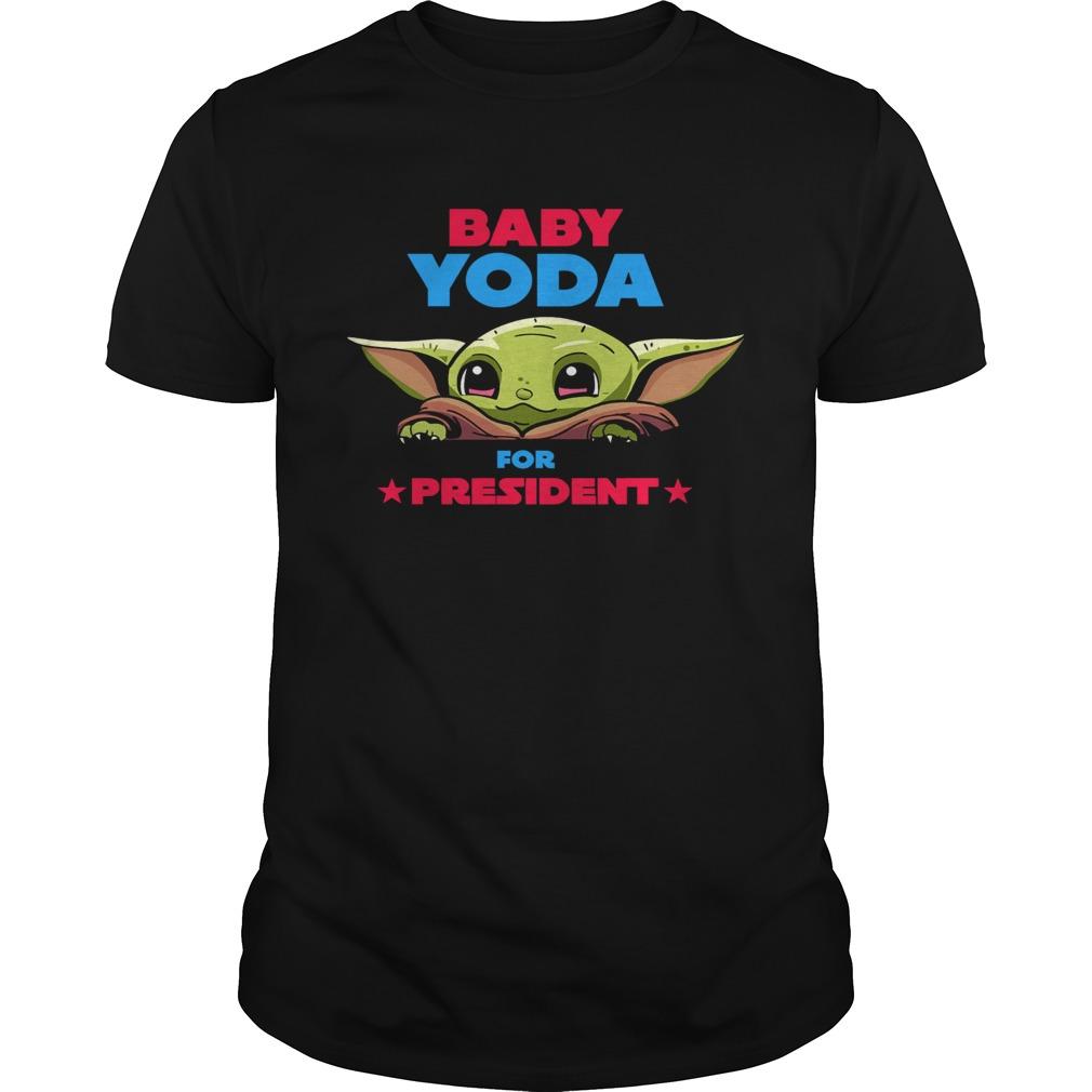 Baby Yoda for president shirt Classic Men's