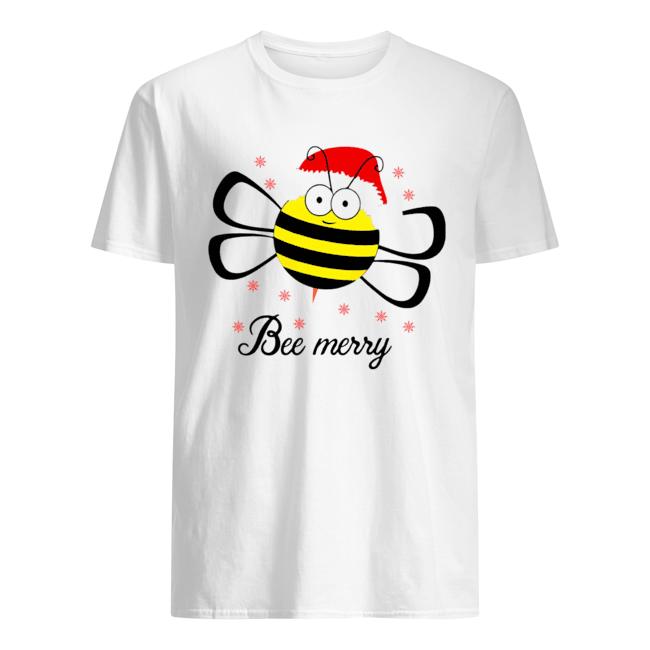 Bee Merry Christmas shirt Classic Men's