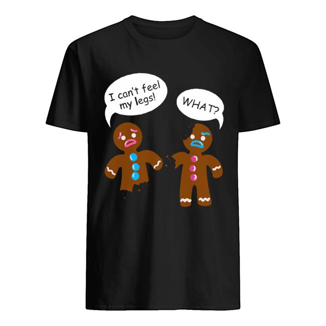 Funny Gingerbread Men Christmas shirt Classic Men's