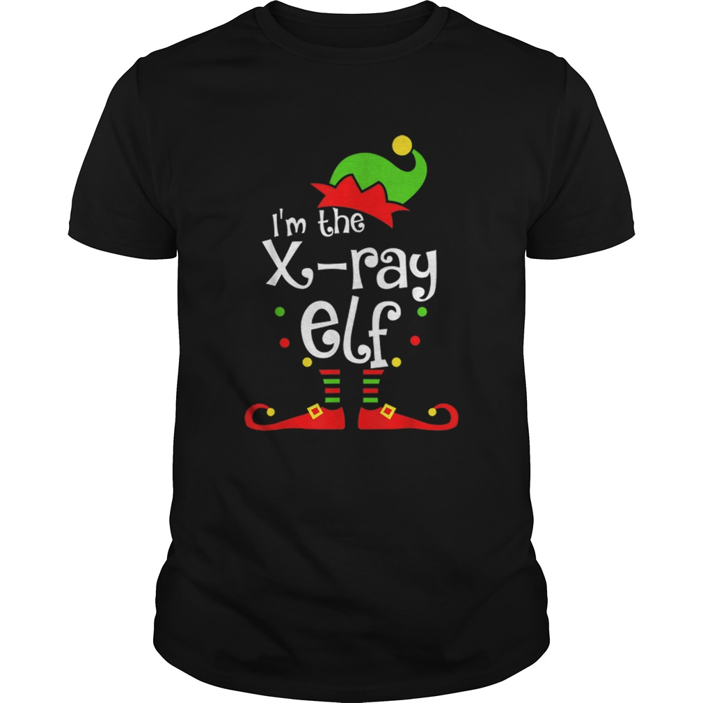 Im The Xray Tech ELF Christmas Xmas Funny Matching Squad shirt Classic Men's