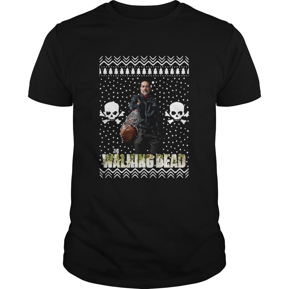 The Walking Dead Melissa McBride Santa Hat Christmas shirt Classic Men's