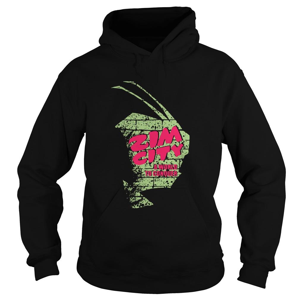 zim city invader zim  hoodie