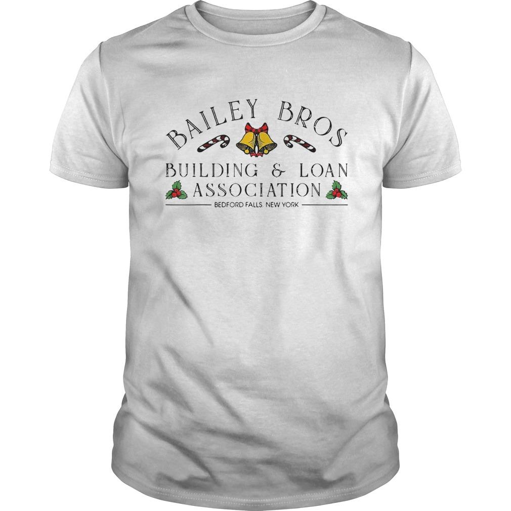 Bailey Bros BuildingLoan Association Bedford Falls New York shirt Classic Men's