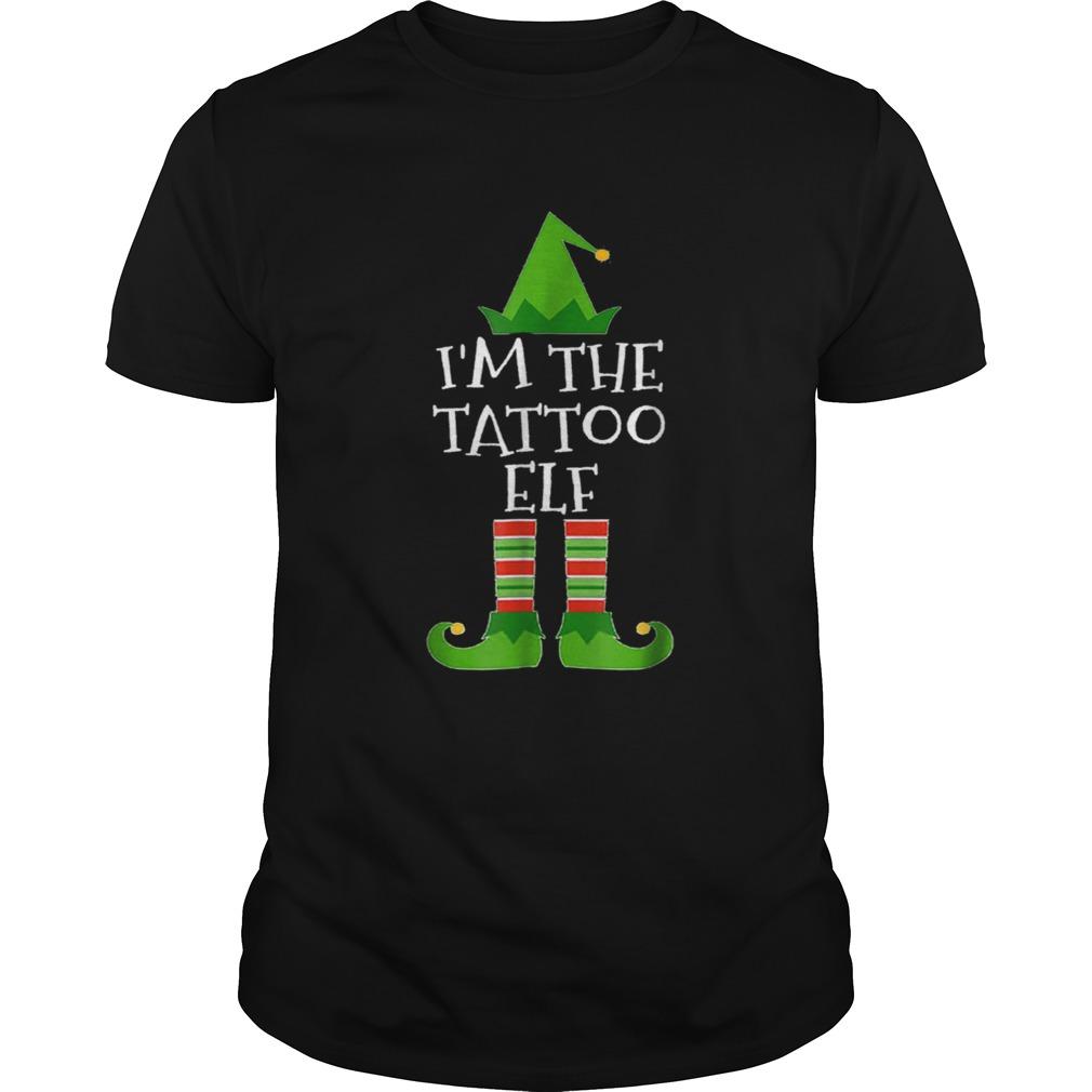 Beautiful Im The Tattoo Elf Matching Family Group Christmas shirt Classic Men's