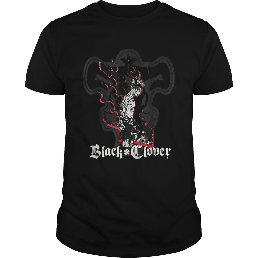 Black Clover Anime Asta Shadow shirt Classic Men's