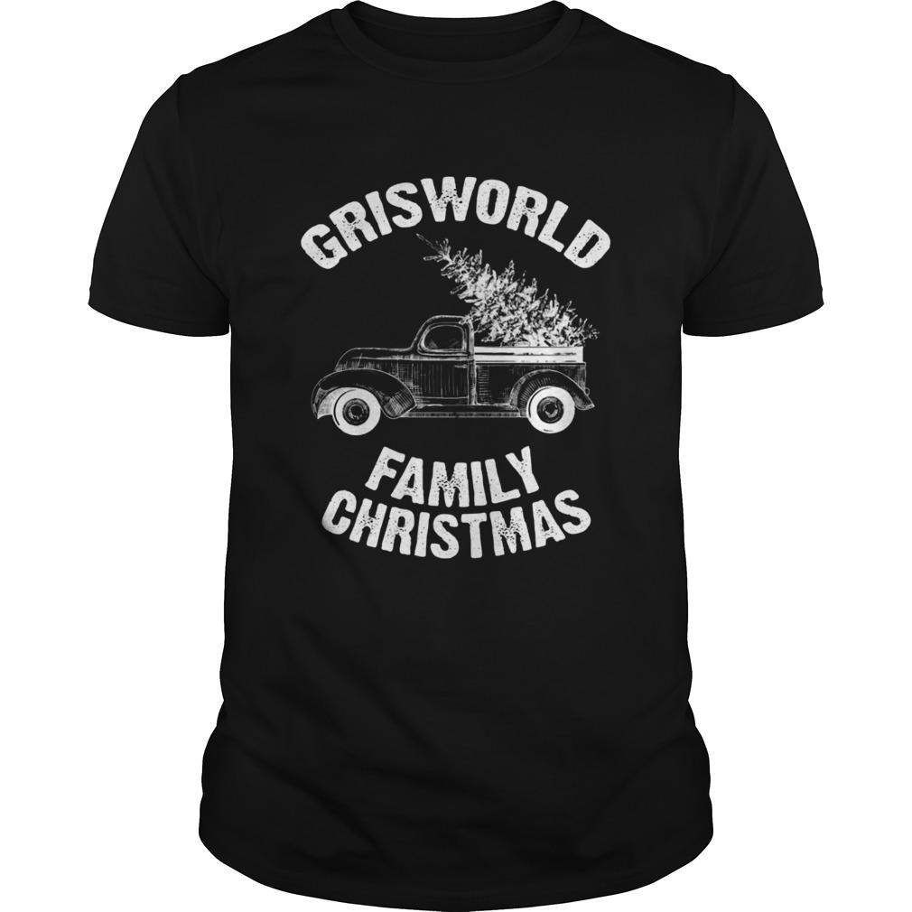 Grisworld Family Christmas shirt Classic Men's