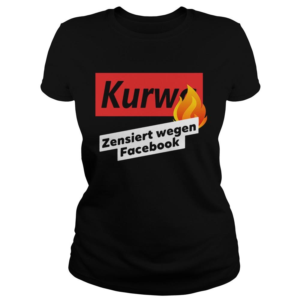 kurwa zensiert wegen facebook  classic ladies