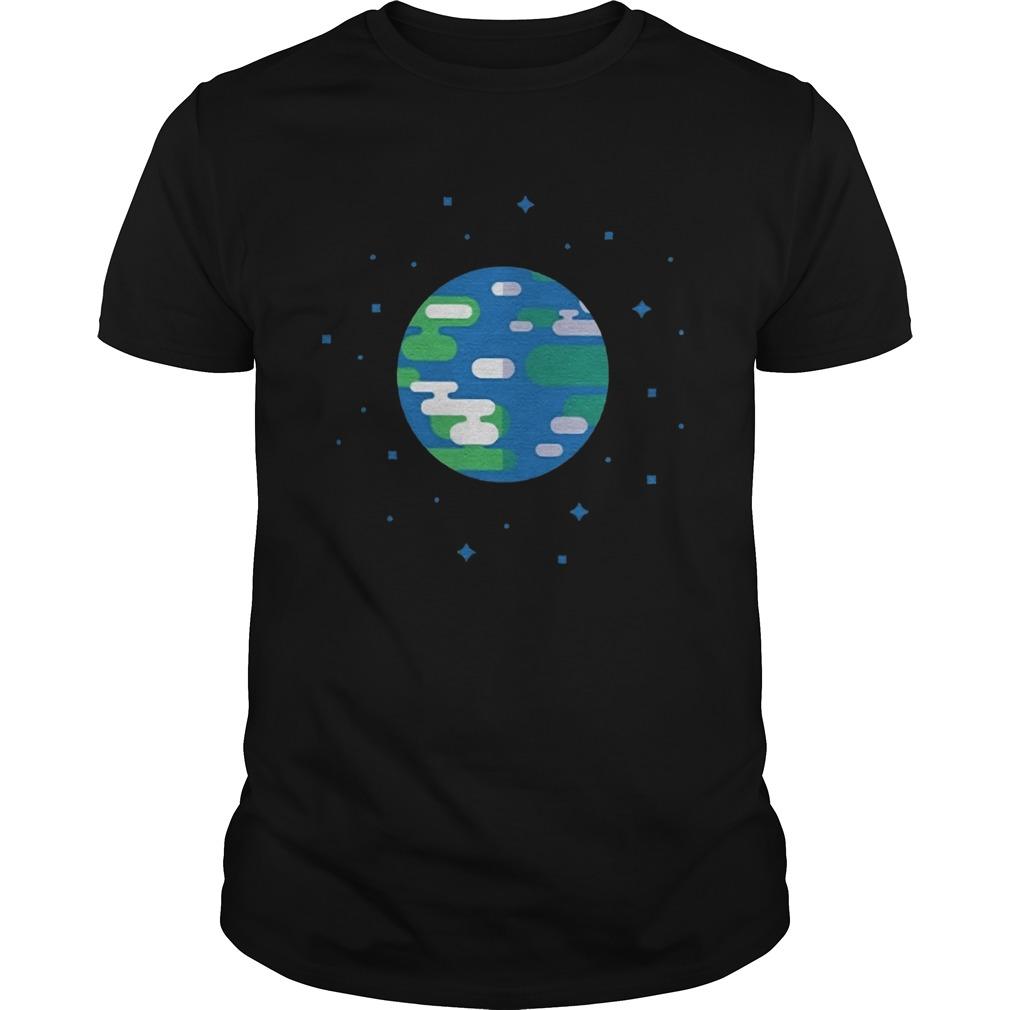 Kurzgesagt Merch Earth shirt Classic Men's