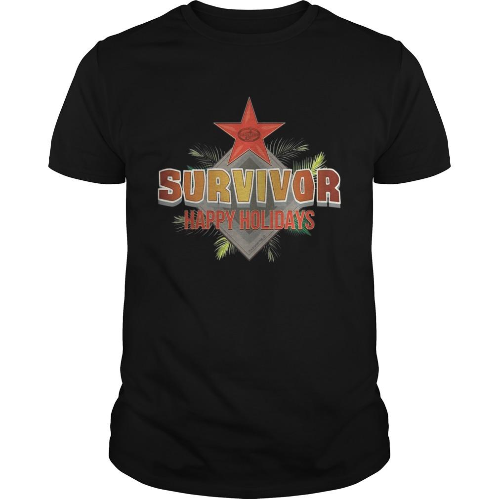 Survivor Happy Holidays Christmas shirt Classic Men's