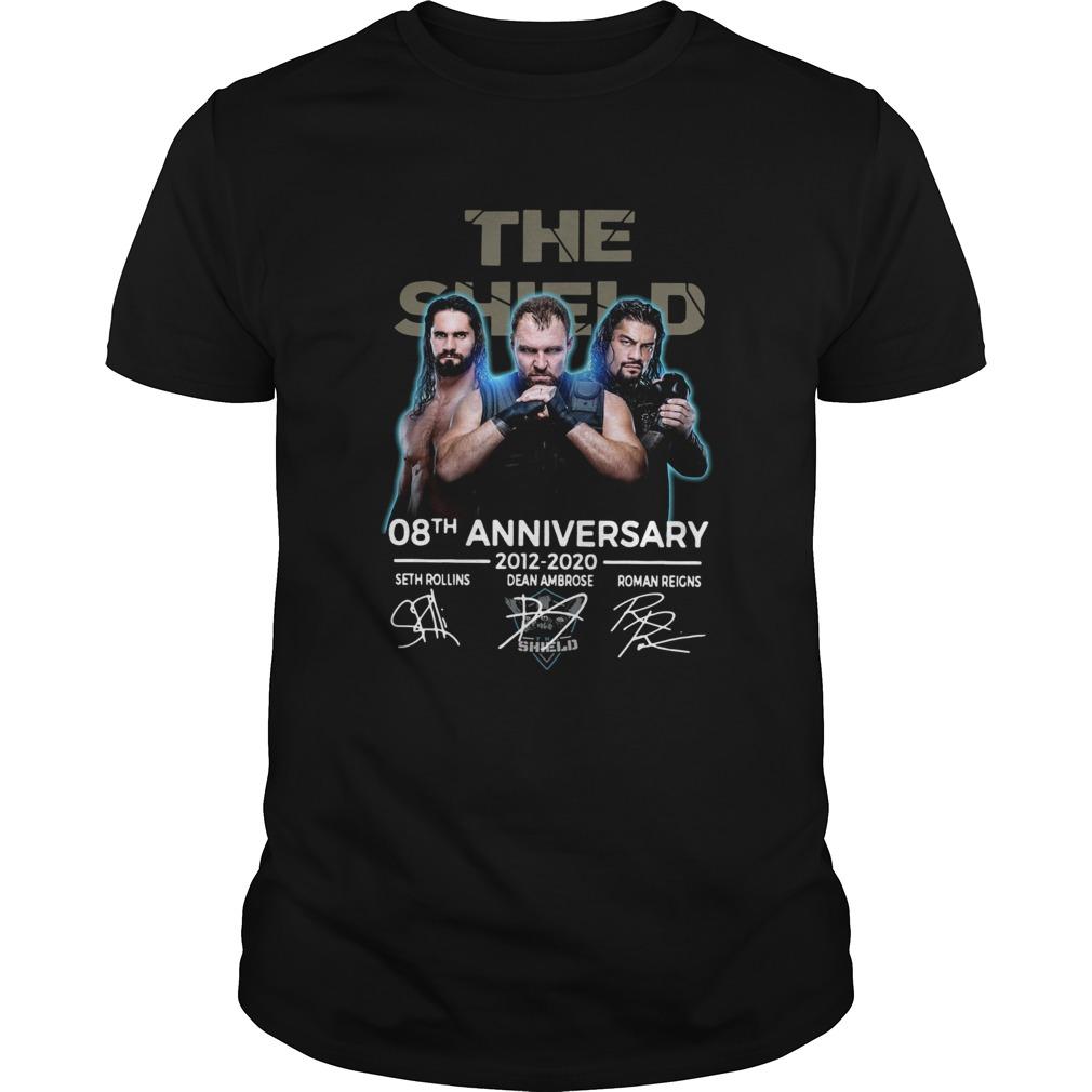The Shield 08th Anniversary 20122020 Signatures shirt Classic Men's