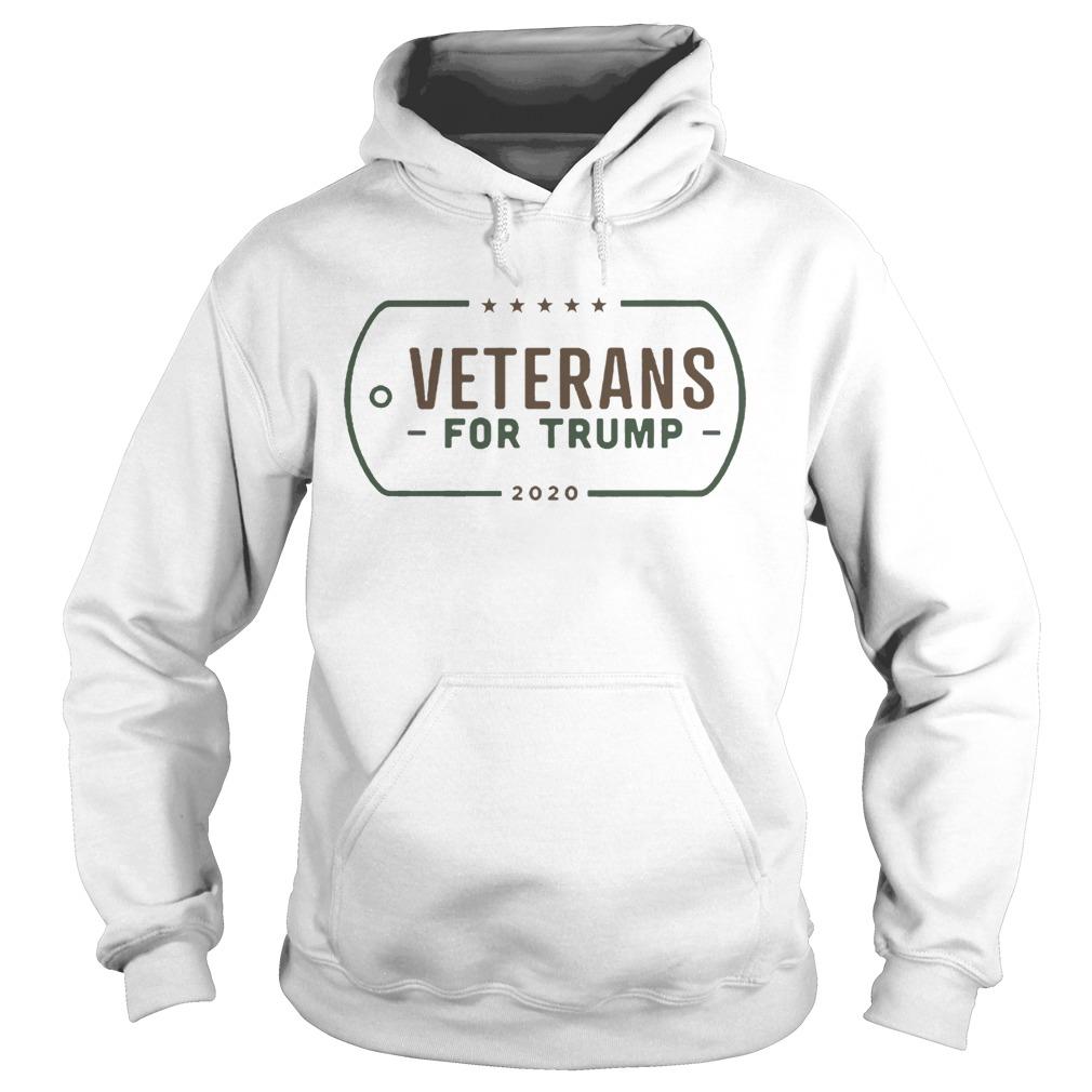 veterans for donald trump  hoodie