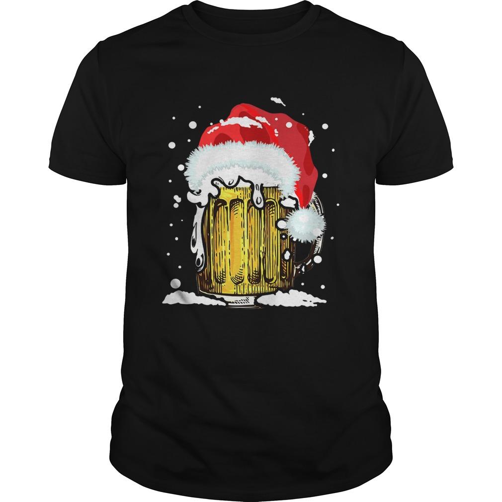Beer Santa Ugly Christmas shirt Classic Men's