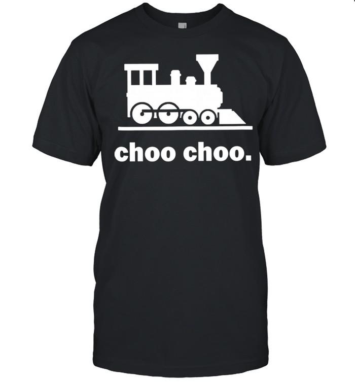 Choo Choo Train Railway Road Conductor Locomotive  Classic Men's T-shirt