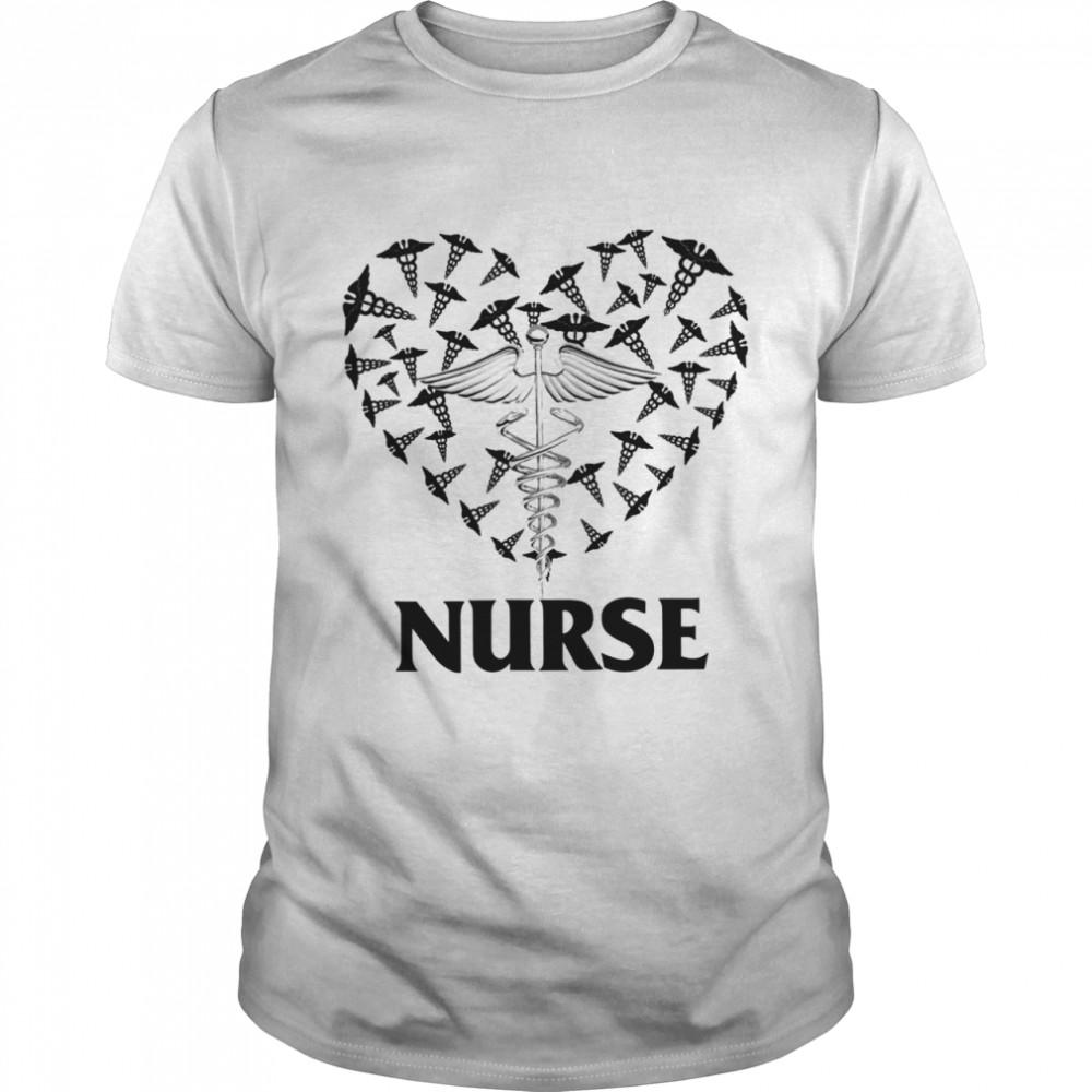 Love Nurse Love Heart shirt