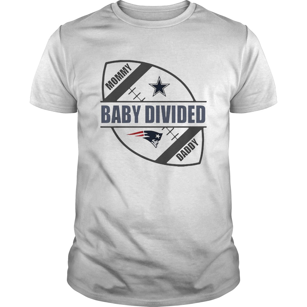 Mommy baby divided Daddy Dallas Cowboy vs New England Patriots shirt Classic Men's