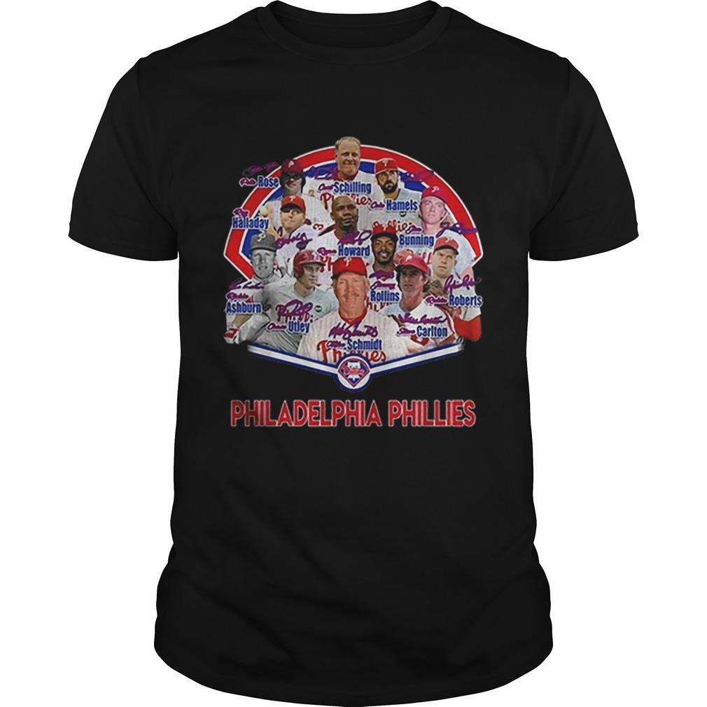 Philadelphia Phillies players name shirt Classic Men's