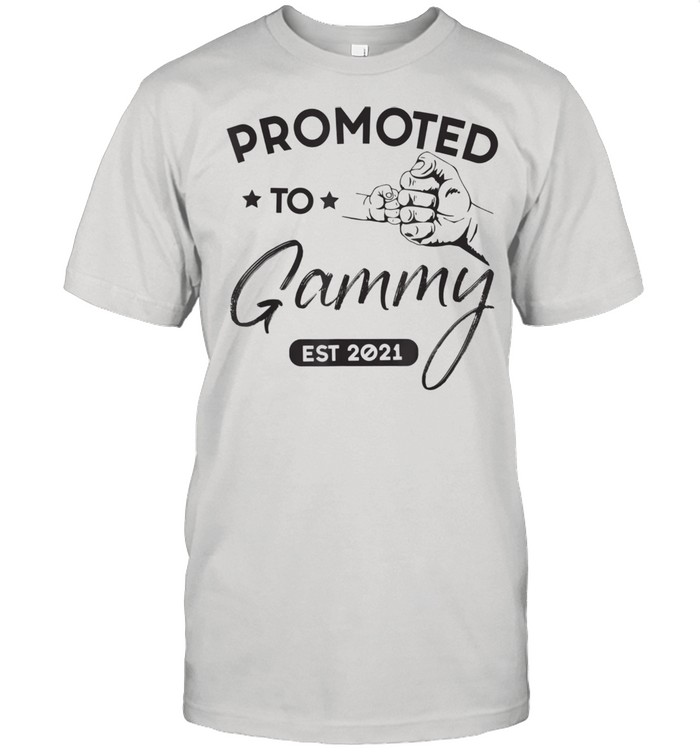 Promoted To Gammy Est 2021 Baby Family  Classic Men's T-shirt