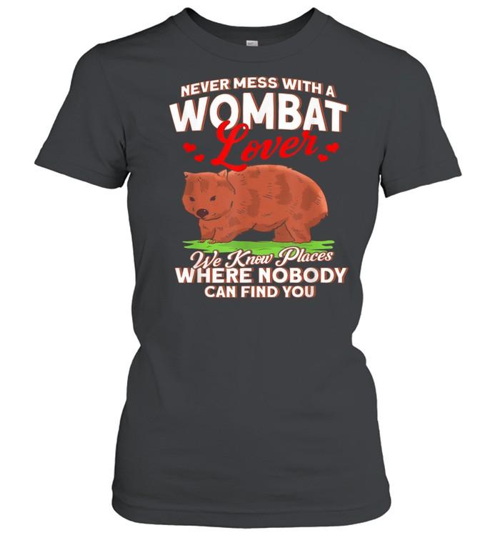 Wombats Outback Animal Baggy Australia  Classic Women's T-shirt