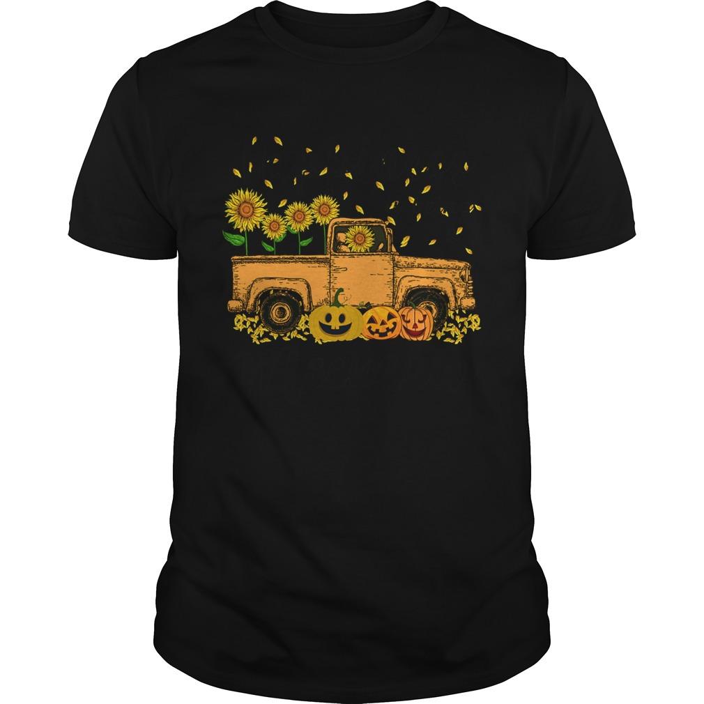 Halloween Car Pumpkin Happiness Is Being A Meemaw shirt Classic Men's
