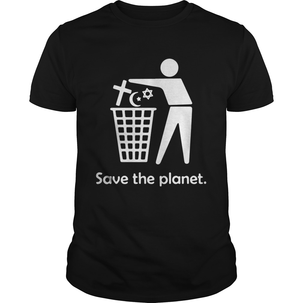 Save the planet shirt Classic Men's