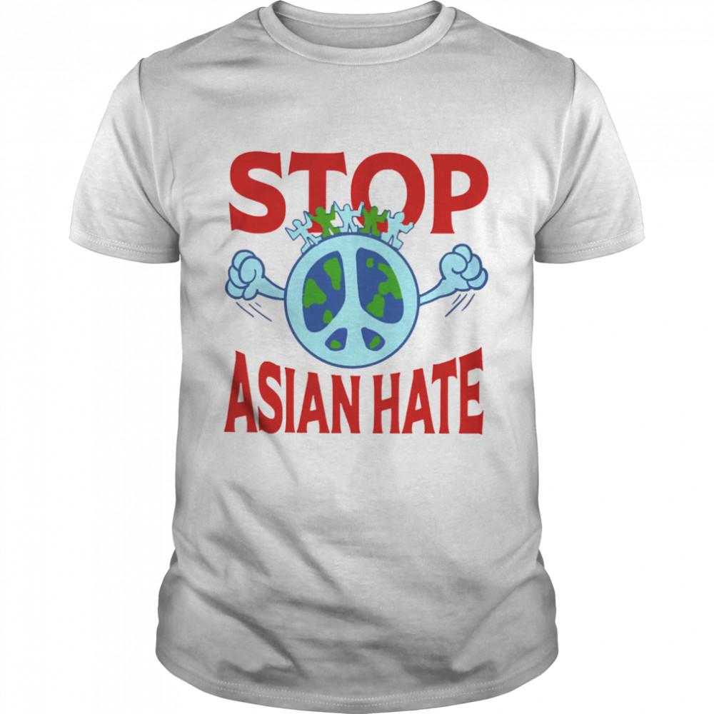Stop asian hate tshirt Classic Men's T-shirt
