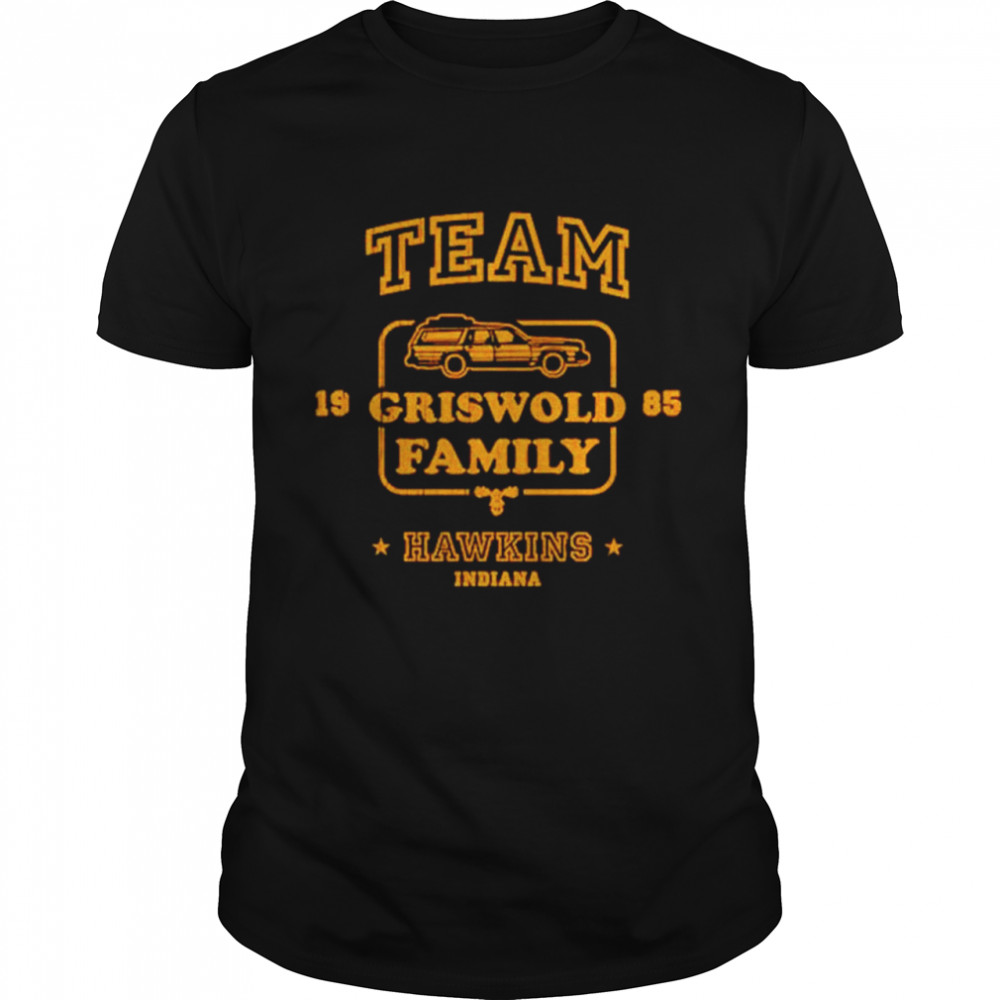 Team Griswold family Hawkins Indiana shirt Classic Men's T-shirt
