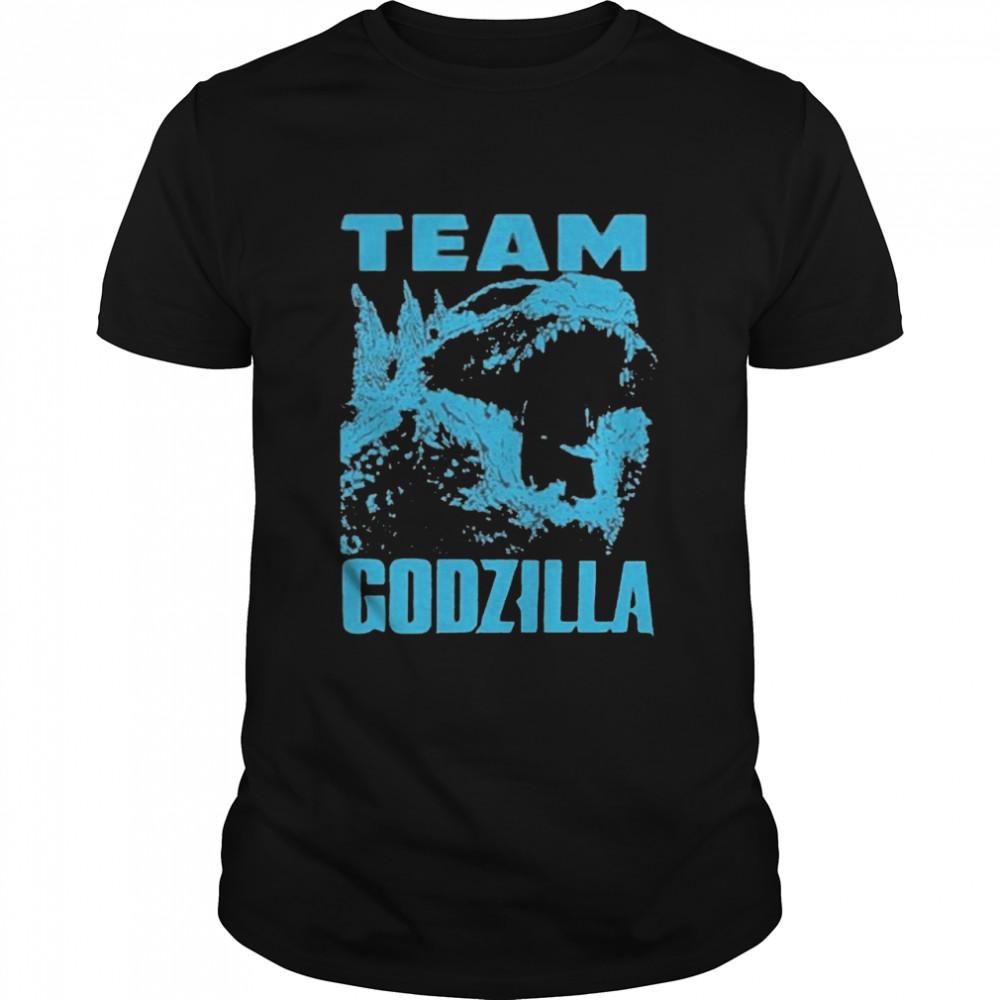 The Godzilla Wins 2021 Blue shirt