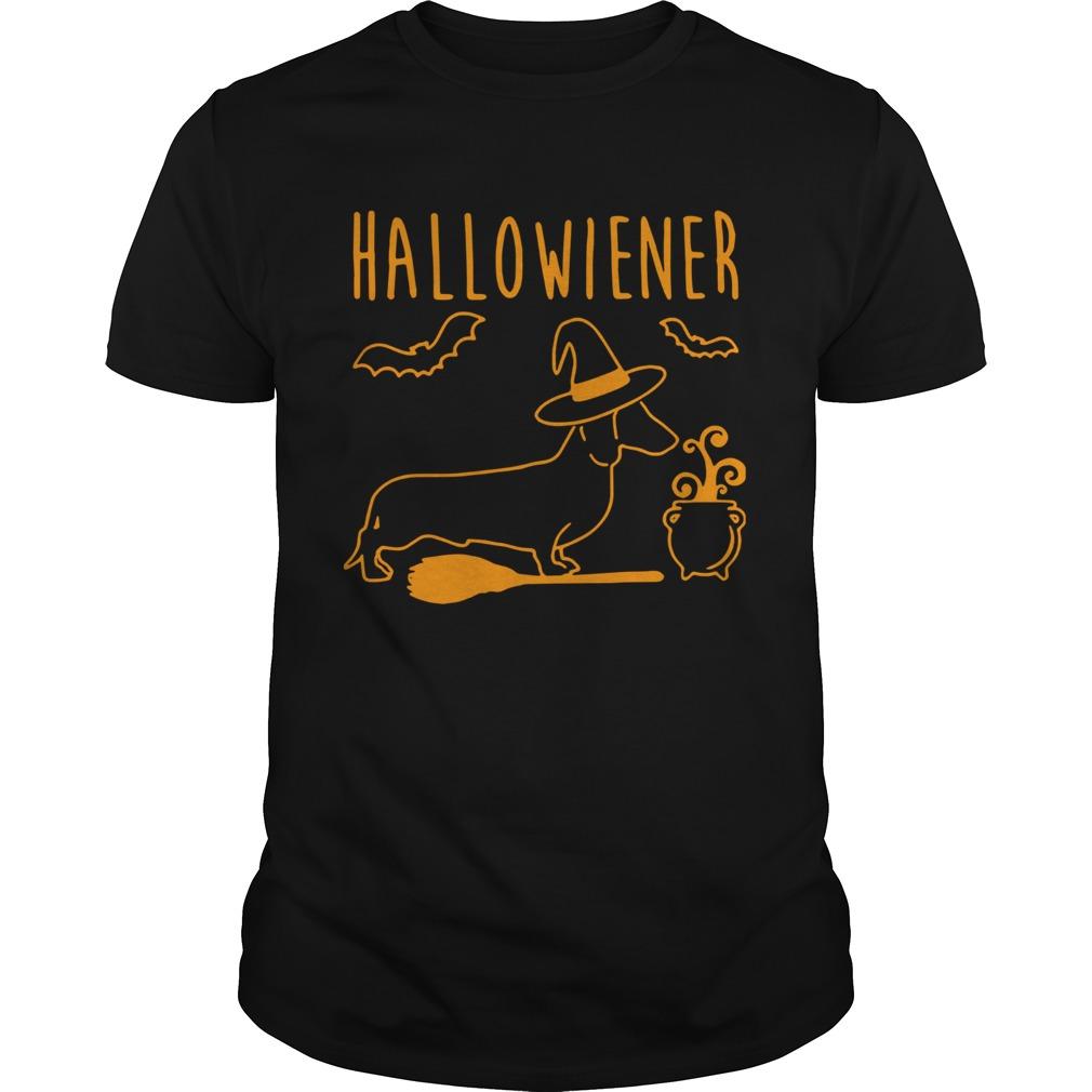 Halloween Dachshund witch Halloweiner shirt Classic Men's