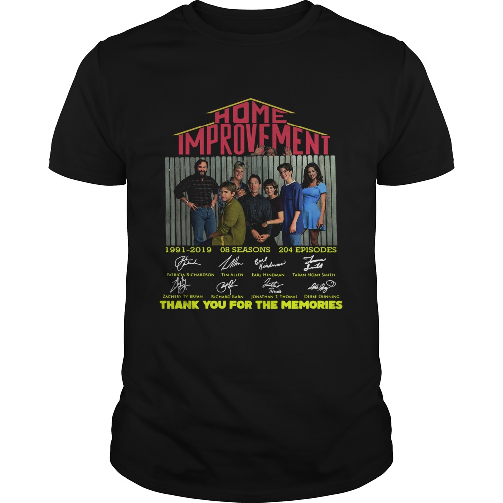 Home Improvement thank you for the memories shirt Classic Men's
