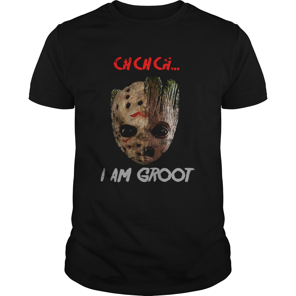 Jason Voorhees and Groot ch ch ch I am Groot shirt Classic Men's