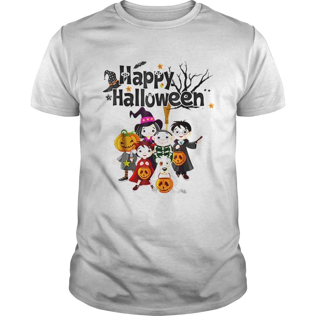 Premium Halloween KidsHappy Halloween Pumpkin shirt Classic Men's