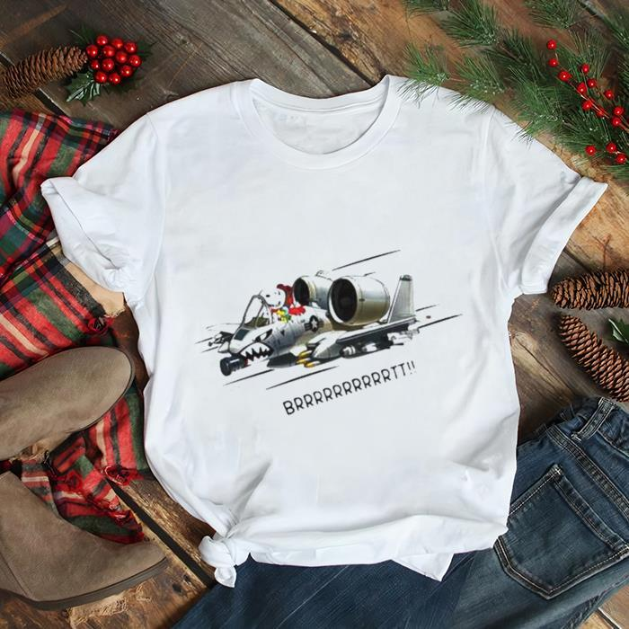 Snoopy fighter aircraft brrrtt shirt Classic Men's